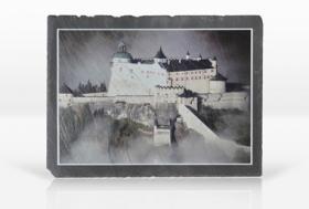 Schiefersteinplatte mit Foto bedrucken