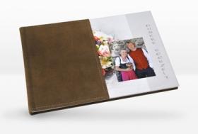 Österreich Fotobuch mit echtem Ledereinband