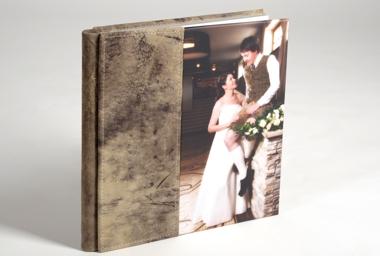 Profit-Fotobuch mit Hirschledereinband